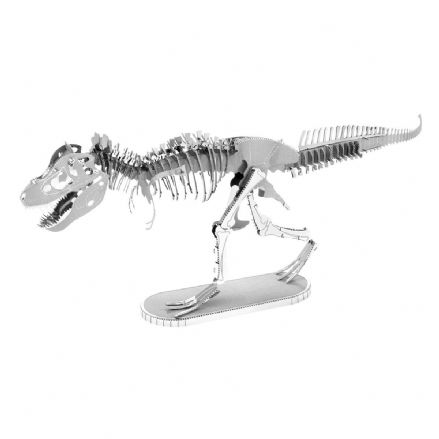 Metal Earth Dinosaur Model Kit Tyrannosaurus Rex Skeleton